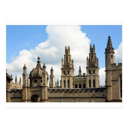 All Souls College, Oxford Postcard