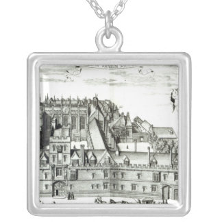 All Souls College, Oxford University, 1675 Silver Plated Necklace
