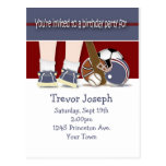 All Sports Birthday Invitation Template Post Cards