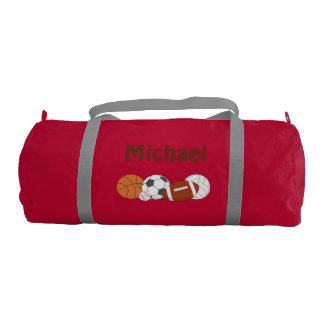 ALL Sports Duffle Bag PERSONALIZED Gym Duffel Bag