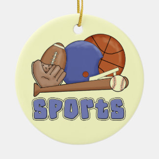 All Sports T-shirts and Gifts Christmas Ornament