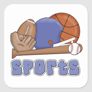 All Sports T-shirts and Gifts Sticker