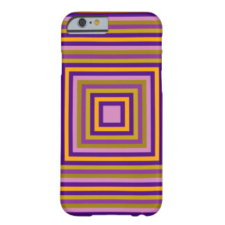 All square multicolor barely there iPhone 6 case