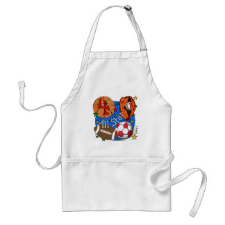 All Star 4th Birthday Tshirts and Gifts Standard Apron