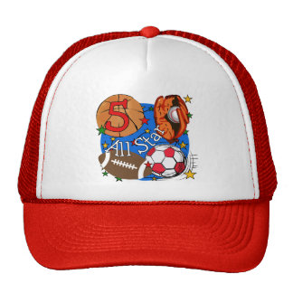 All Star 5th Birthday T-shirts and Gifts Cap