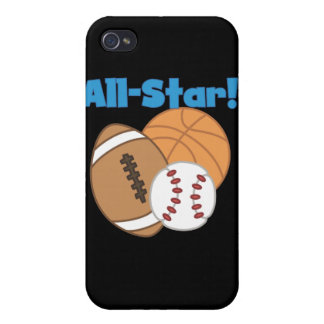 All Star and Gifts iPhone 4/4S Case