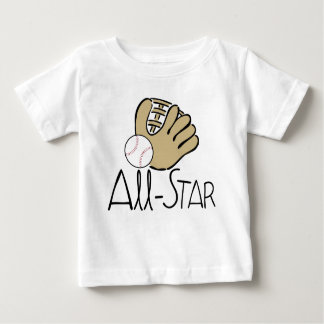 All Star Baseball Baby T-Shirt