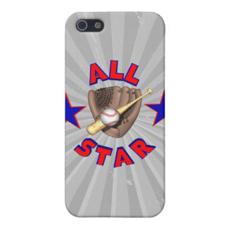 all star baseball player graphic iPhone 5 cover