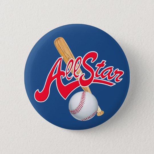 All Star Baseball sports button