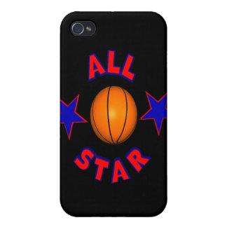 All Star Basketball iPhone 4/4S Case