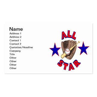 All Star Pack Of Standard Business Cards