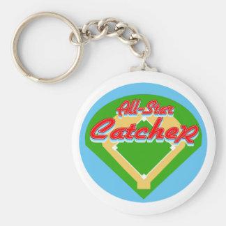All-Star Catcher Key Chain