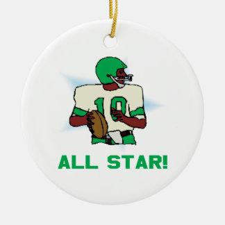 All Star Christmas Ornament