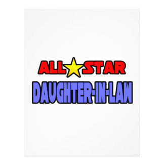 All Star Daughter-In-Law Personalized Flyer
