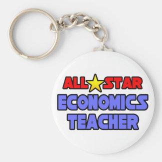 All Star Economics Teacher Keychain