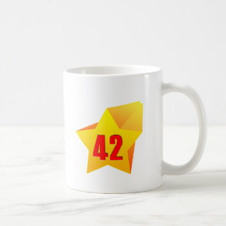 All Star Fourty Two years old! Birthday Mug
