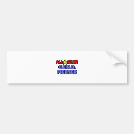 All Star G.E.R.D. Fighter Bumper Sticker