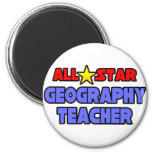 All Star Geography Teacher Magnet