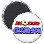 All Star Grandson Refrigerator Magnet