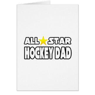 All Star Hockey Dad Card