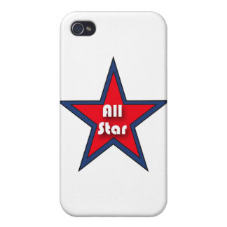 All Star iPhone 4/4S Cases