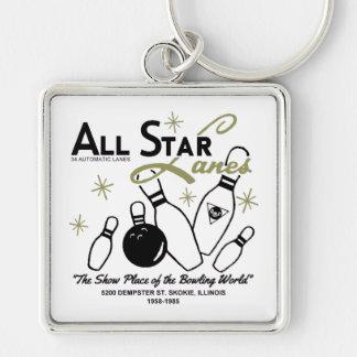 All Star Lanes, Skokie, Illinois Key Ring