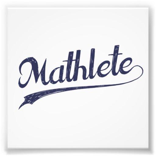 All Star Mathlete Math Athlete Photograph