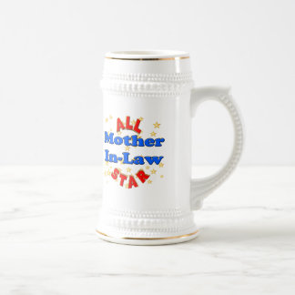 All Star Mother-In-Law Mothers Day Gifts Coffee Mugs