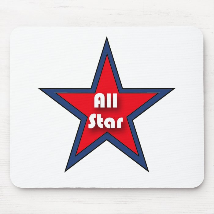 All Star Mouse Pad