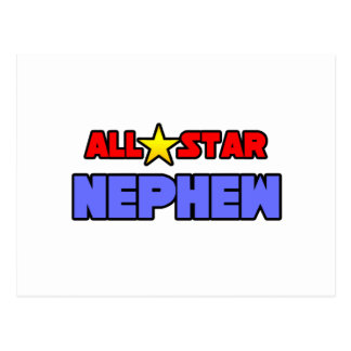 All Star Nephew Postcard