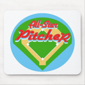 All-Star Pitcher Mouse Mats