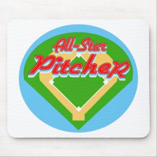 All-Star Pitcher Mouse Mats