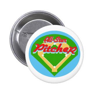 All-Star Pitcher Pinback Buttons