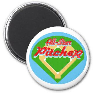 All-Star Pitcher Refrigerator Magnets