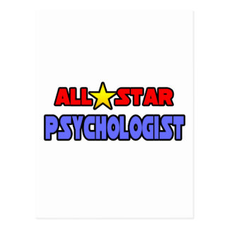 All Star Psychologist Postcard