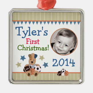 All-Star Puppies Baby's First Christmas Ornament