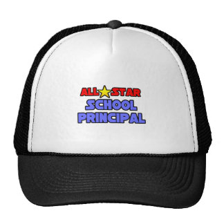 All Star School Principal Trucker Hats