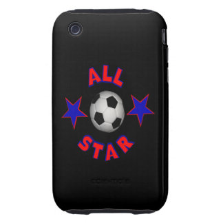 All Star Soccer iPhone 3 Tough Cases
