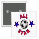 All Star Soccer Pins