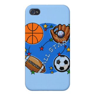 All Star Sports and Gifts iPhone 4 Covers