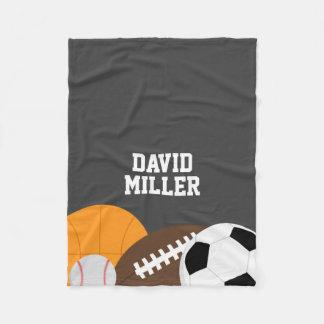 All Star Sports Fleece Blanket