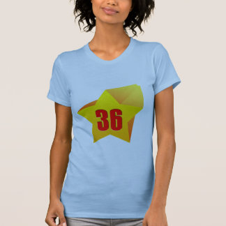 All Star Thirty Six years old! Birthday T Shirts