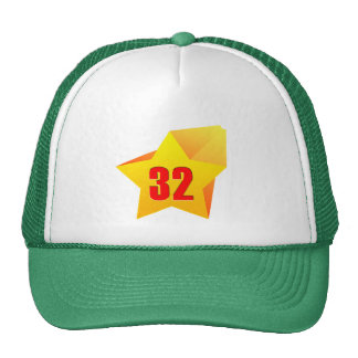 All Star Thirty Two years old! Birthday Mesh Hat