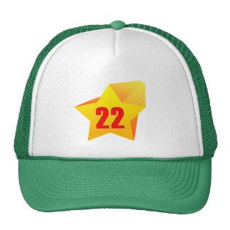 All Star Twenty Two years old! Birthday Hat