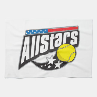 All Stars Tennis Kitchen Towel