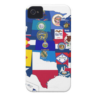 All States Flags United iPhone 4 Covers