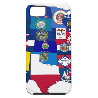 All States Flags United iPhone 5 Case
