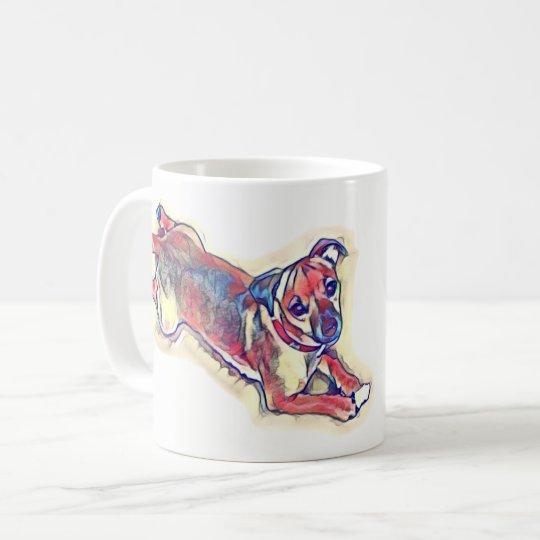 All tan Jack Russell terrier Coffee Mug
