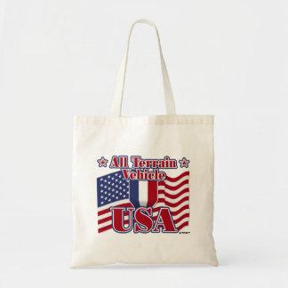 All Terrain Vehicle USA Tote Bag