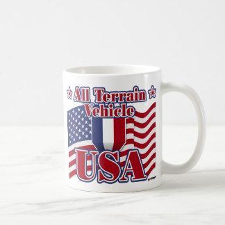 All Terrain Vehicle USA Basic White Mug